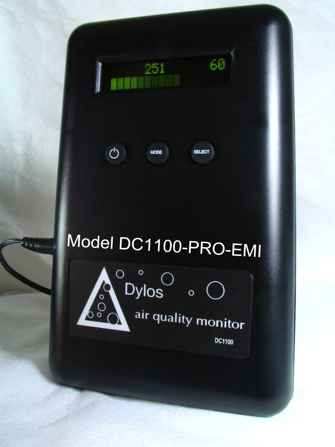Dylos Laser Air Quality Monitor Model DC1100Pro-EMI