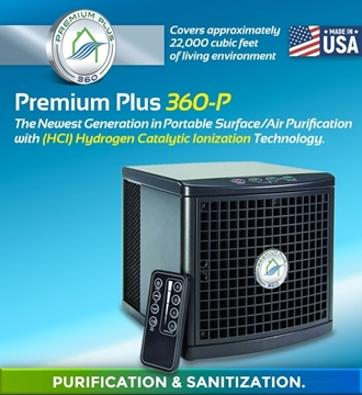 Picture of Premium Plus 360 Portable Air Purification and Sanitization System