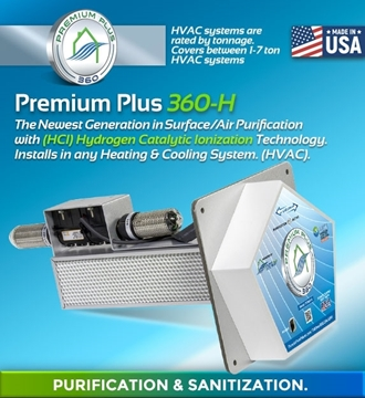 Picture of Premium Plus 360-H Air Purification and Sanitization System