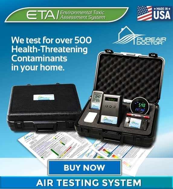 Picture of Pure Air Doctor™ - ETA TEST™  System / Whole Home Air Test